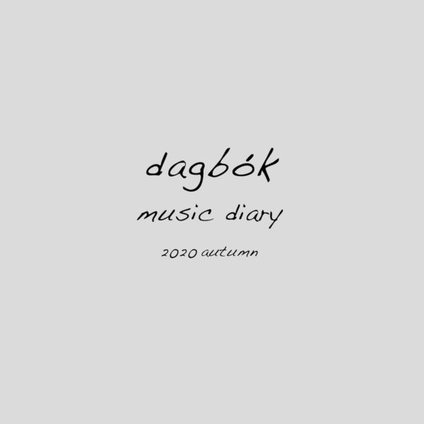 「dagbók music diary 2020 autumn」